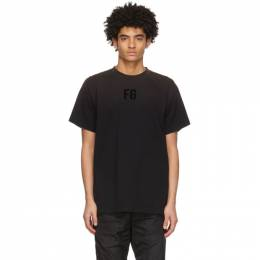 Fear Of God Black FG T-Shirt FG50-025CTJ