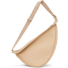 The Row Beige Large Slouchy Banana Bag L129