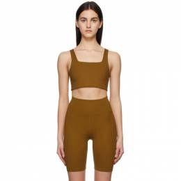 Tan Tommy Sports Bra 1016-BBN-SP21A Girlfriend Collective