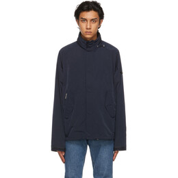 Barbour Navy Transporter Casual Jacket MCA0730NY71