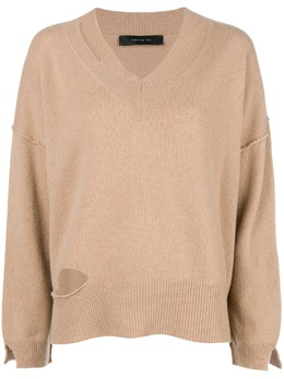 Federica Tosi cut-detail flared sweater FTI18MK092