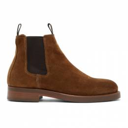 Belstaff Brown Suede Longton Boots 1058348