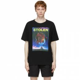 SSENSE Exclusive Black In Dreams T-Shirt C1-21T001B-A Stolen Girlfriends Club