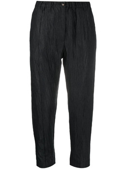Tela cropped straight-leg trousers NEWBEATO