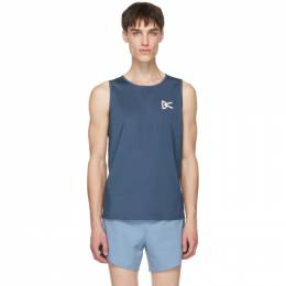 Blue Air Wear Singlet Tank Top DV0001 District Vision