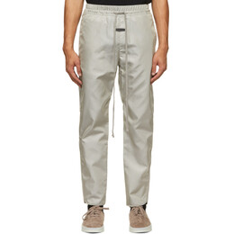 Fear Of God Grey Nylon Track Pants FG40-013ITW