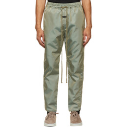 Fear Of God Green Nylon Track Pants FG40-013ITW