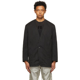 Fear Of God Black Everyday Sports Blazer FG30-009MTW