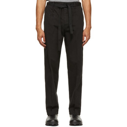 Craig Green Black Painter Trousers CGSS21CWOTRS01