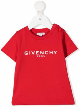 Givenchy Kids logo-print cotton T-Shirt H05M16
