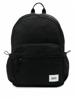 Tommy Jeans logo-patch zipped backpack AM0AM07136