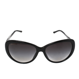 Bvlgari Black/ Black Gradient 8131B - B Cat-Eye Sunglasses 417210